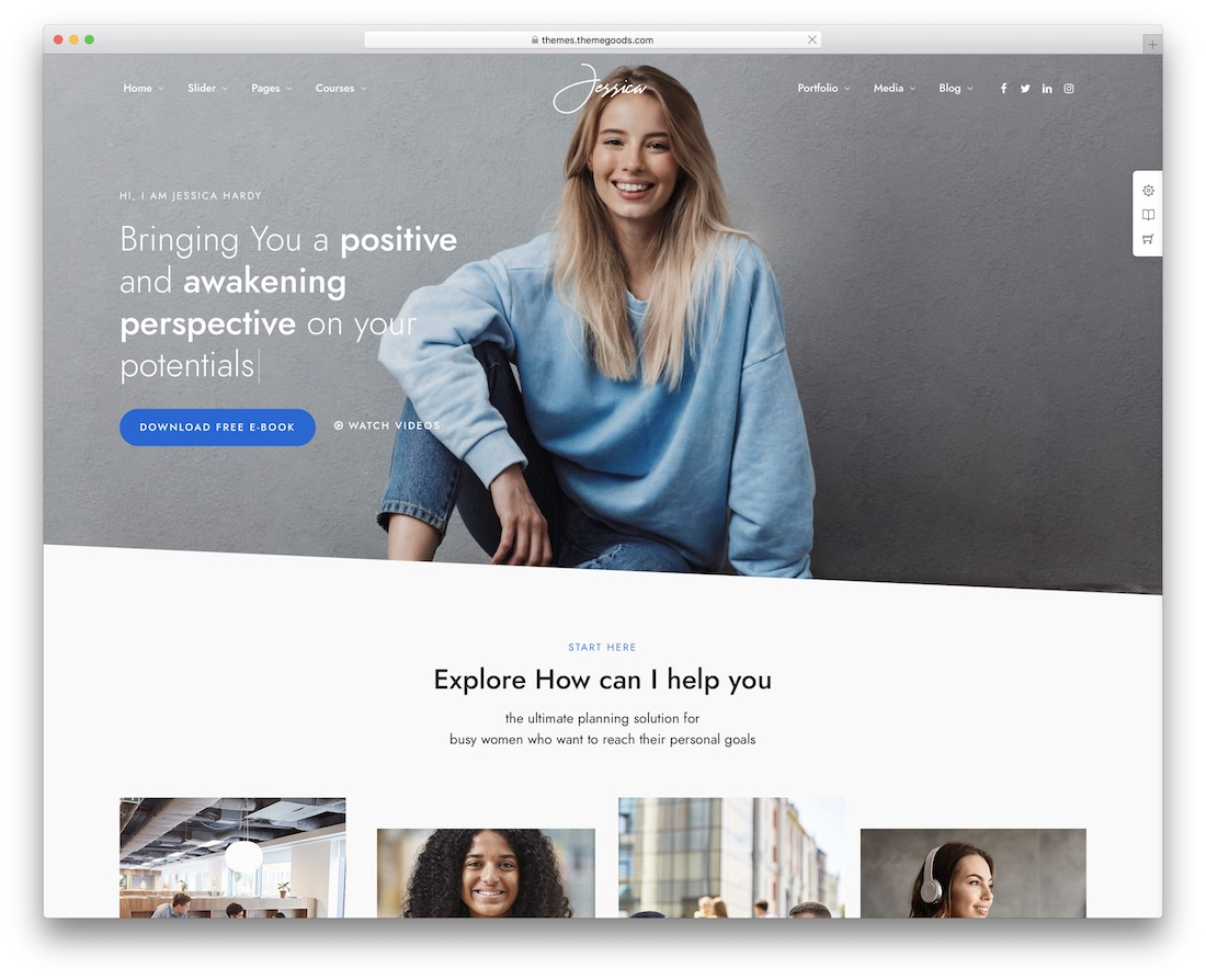 dotlife education wordpress theme