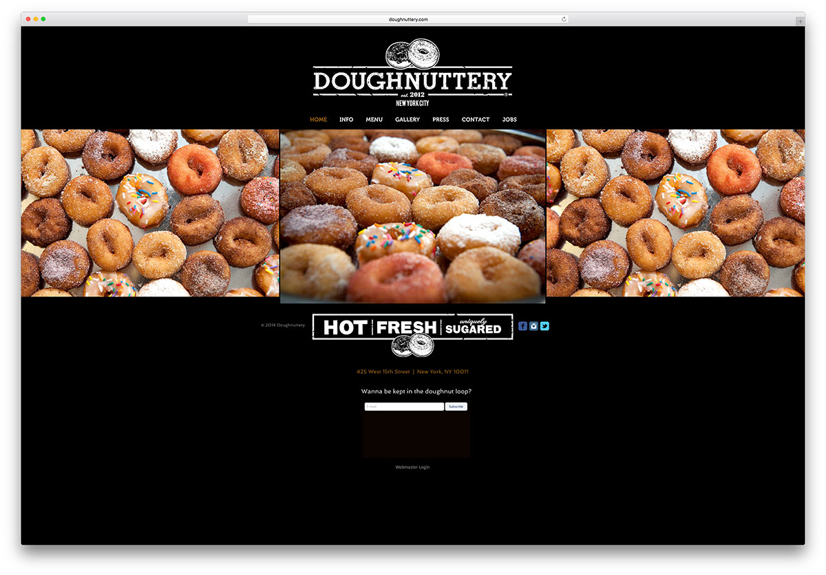 doughnuttery-bakery-wix-website-example