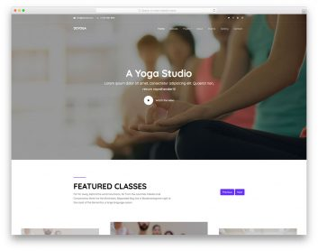 Doyoga Free Template