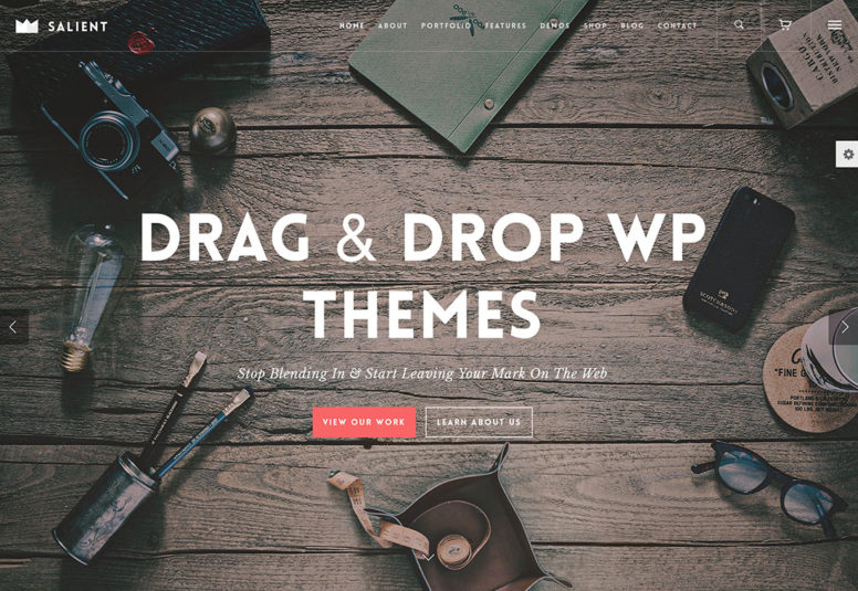 20 Most Popular Drag And Drop WordPress Themes For Landing Pages, Business And Startup Websites 2017