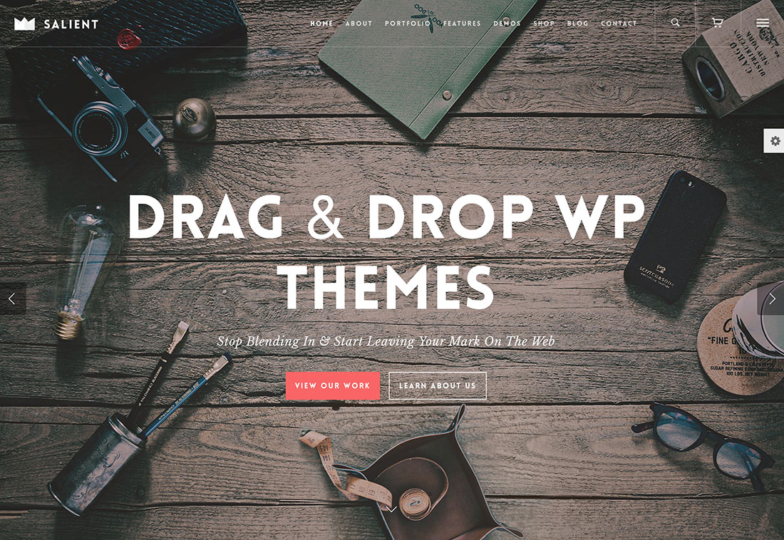 20 Most Popular Drag And Drop WordPress Themes For Landing Pages, Business And Startup Websites 2018
