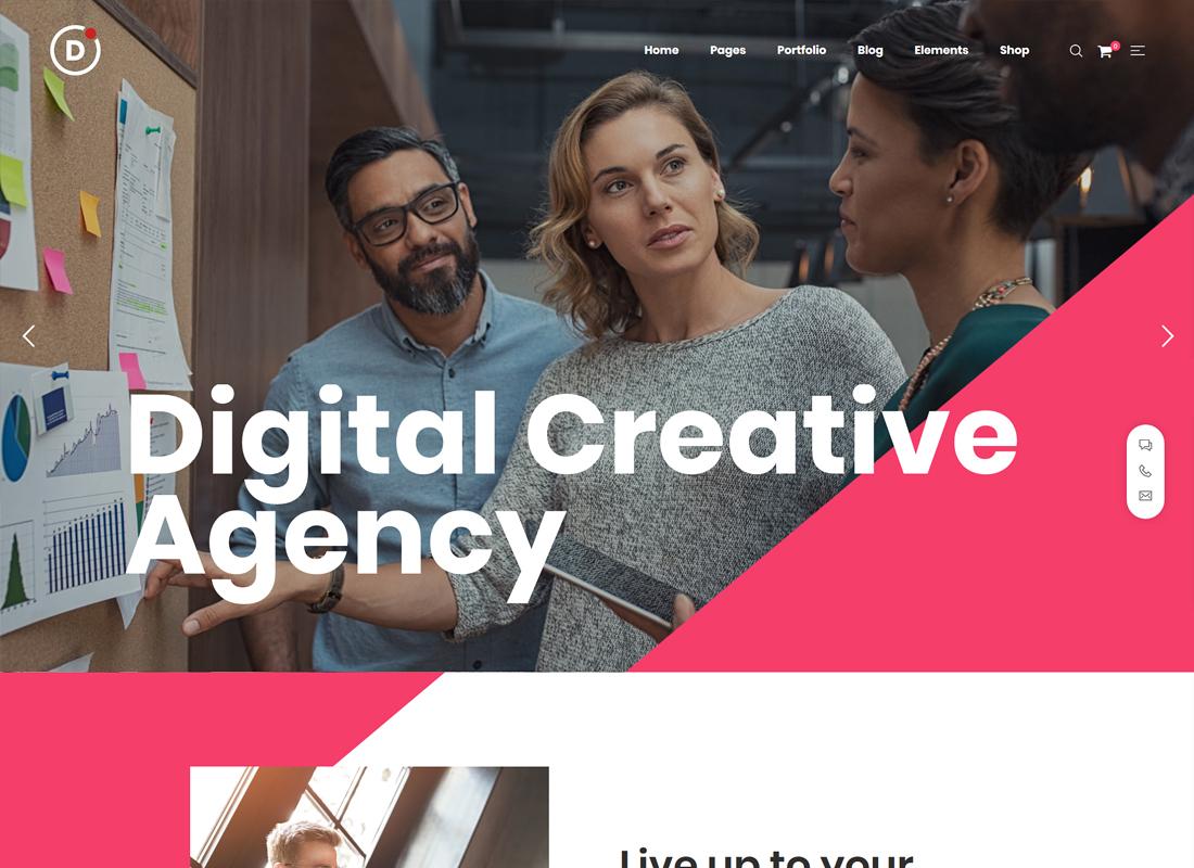 Draven | Multipurpose Creative WordPress Theme