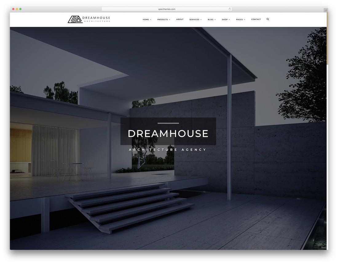 dreamhouse interior design website template