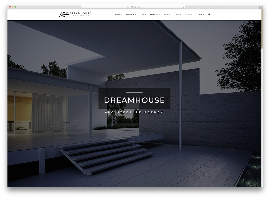 dreamhouse real estate website template
