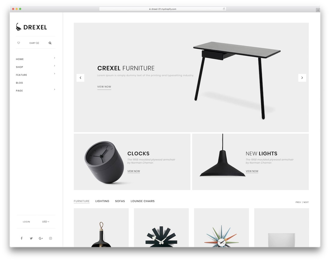 drexel best shopify theme