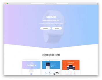 Drimo Free Multi Purpose Template