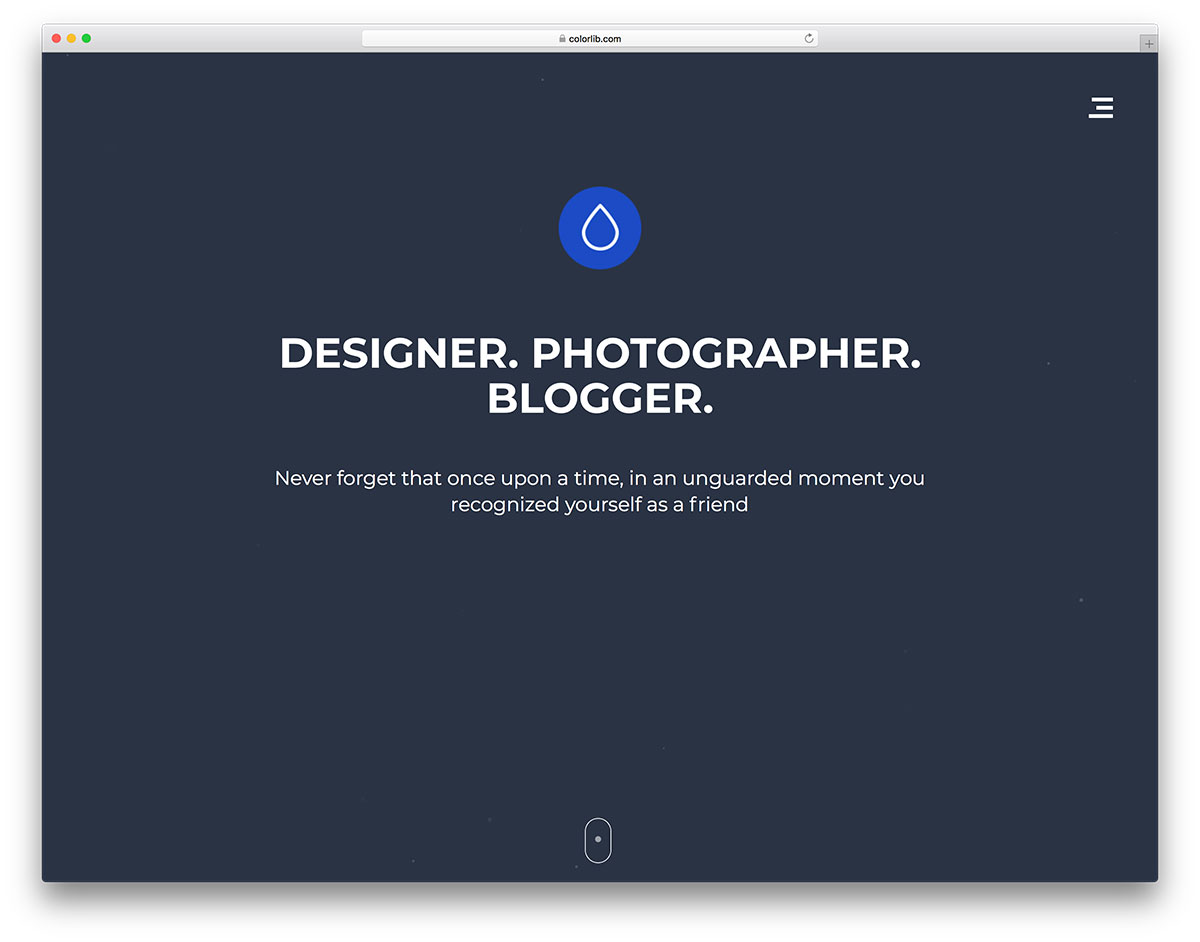 droppler free mobile-friendly website template