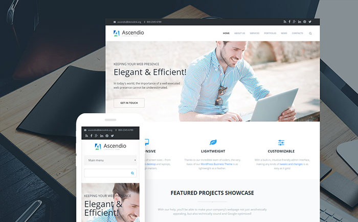- Business & Corporate Drupal Template