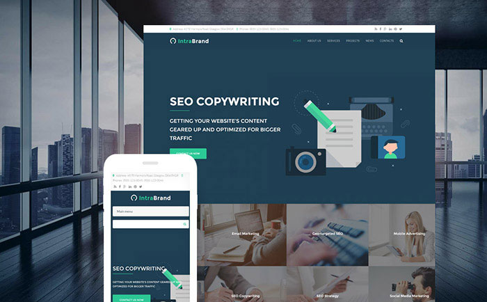 nd - SEO & Digital Marketing Agency Premium Drupal Template