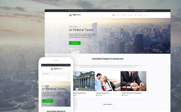 , Inspiring List of Top 17 Drupal Business Website Templates, Rojak WP