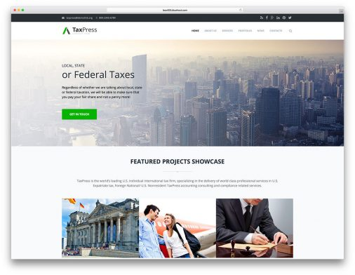 Drupal Business Website Templates