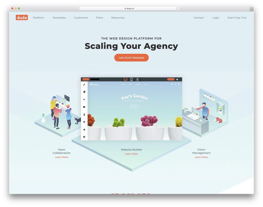 duda website builder for non-profit organizations