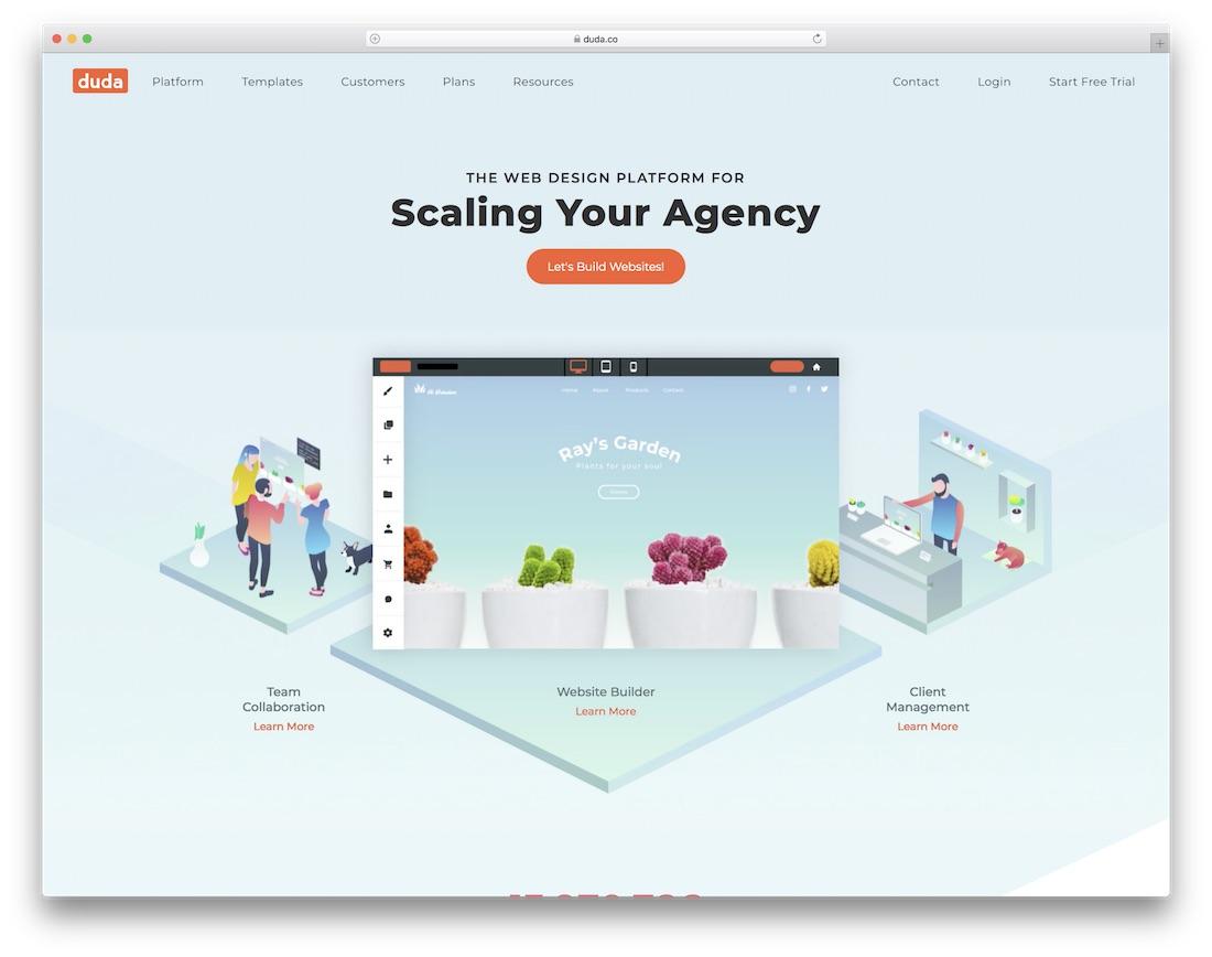 duda website builder for seo
