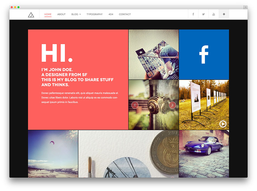 30+ Best Blog WordPress Themes 2016 by Colorlib | Portfolio