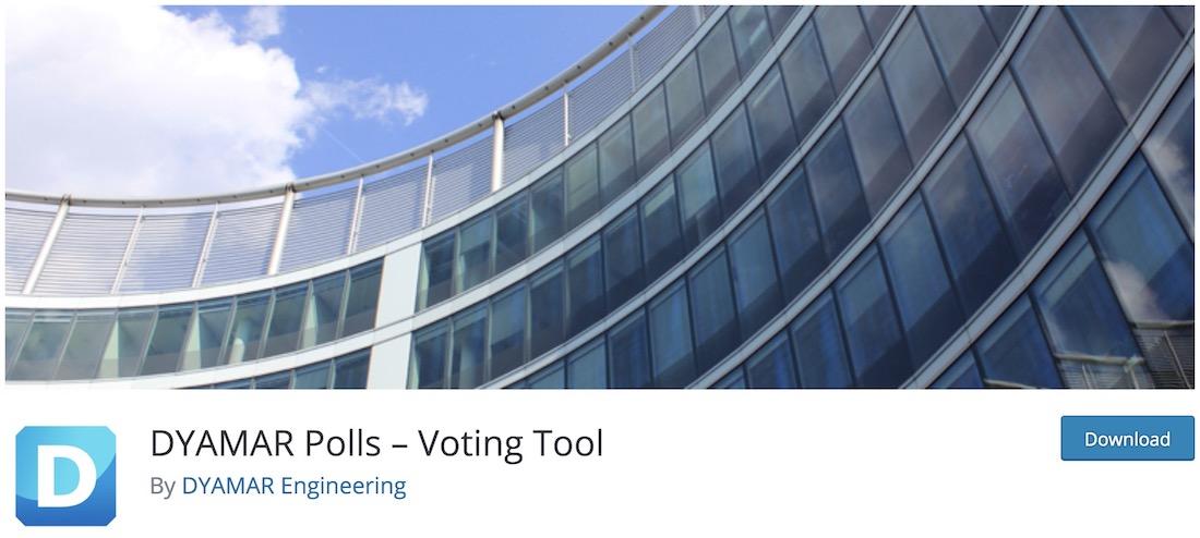 dyamar polls wordpress voting plugin