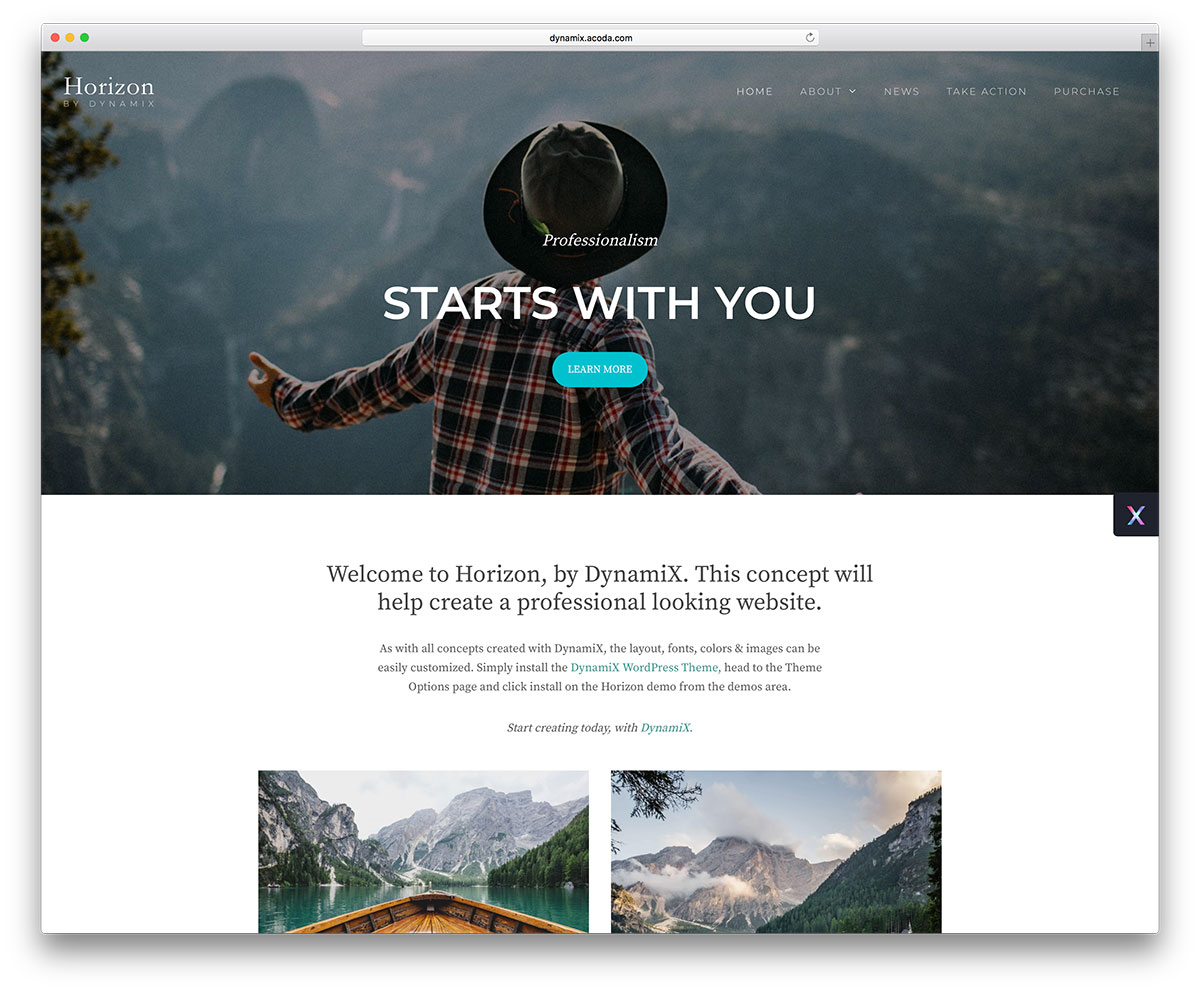 dynamix is a stunning and interest sparking parallax wordpress theme with ultimate features and assets all the content is there at your disposal