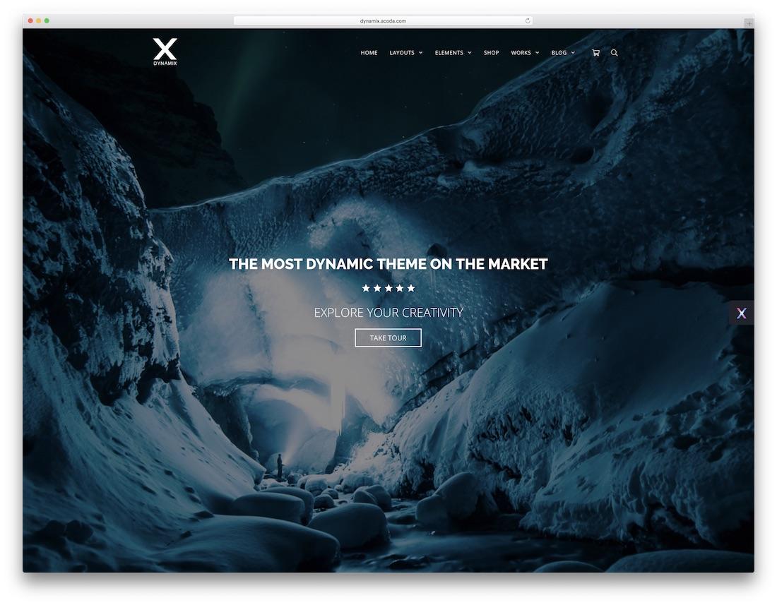 dynamix professional wordpress theme