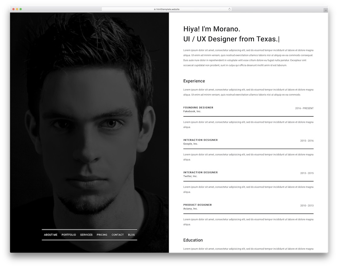 dyon simple bootstrap template