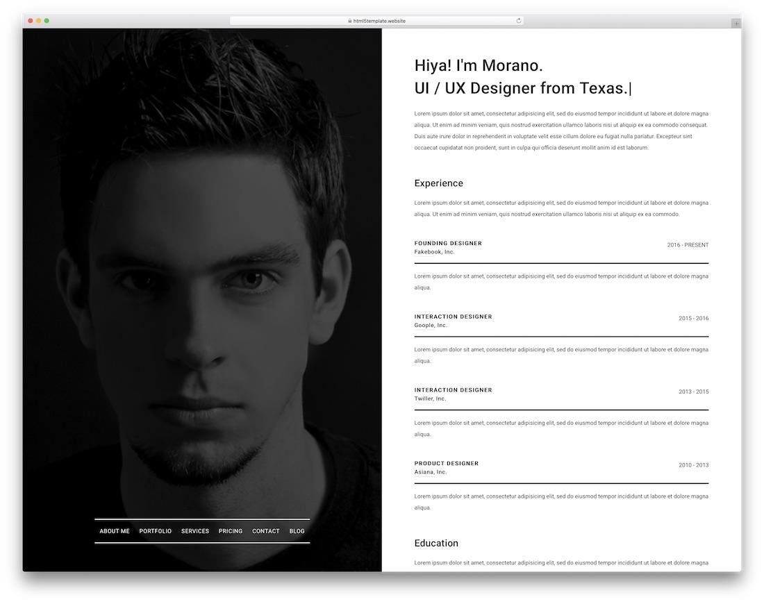 dyon simple bootstrap template