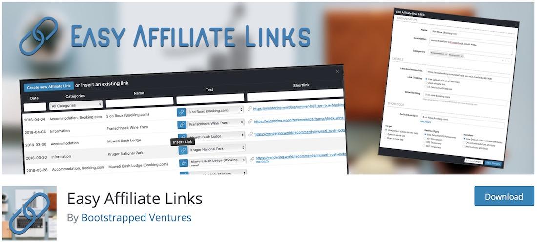 easy affiliate links amazon affiliate wordpress plugin