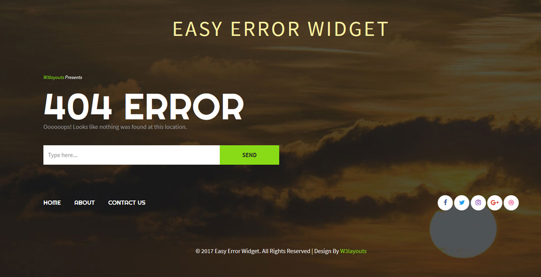 easy-error-widget-free-404-error-page-templates