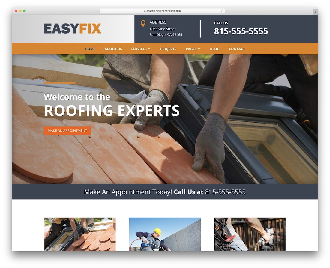 easyfix divi child theme