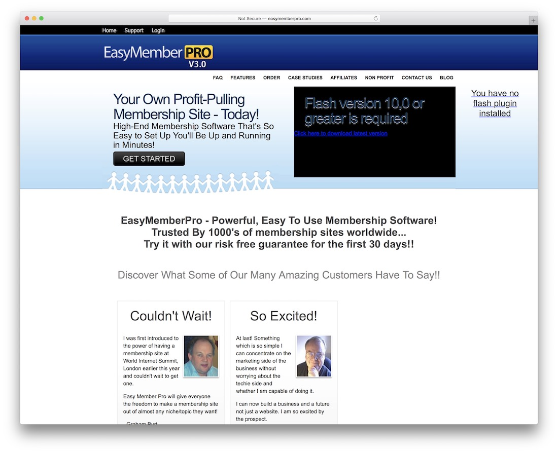 easymemberpro build a membership site