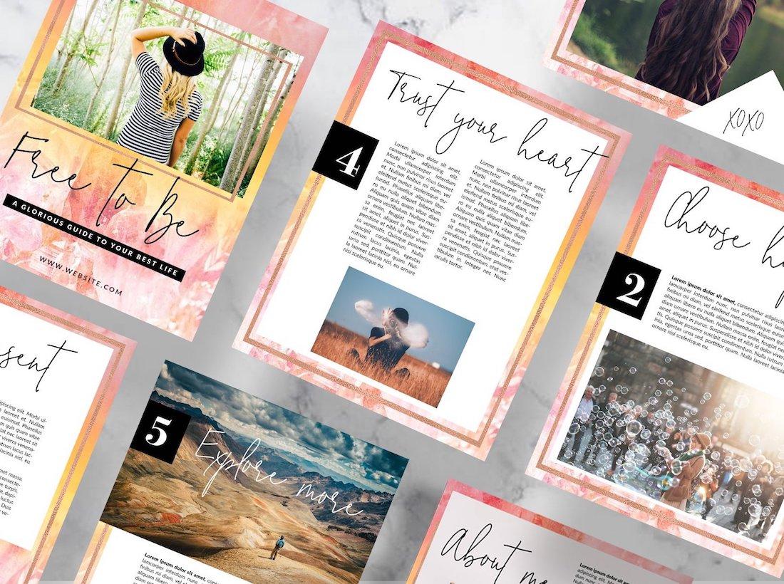 24 Ebook Mockups For Stunning Presentation 2020 Colorlib
