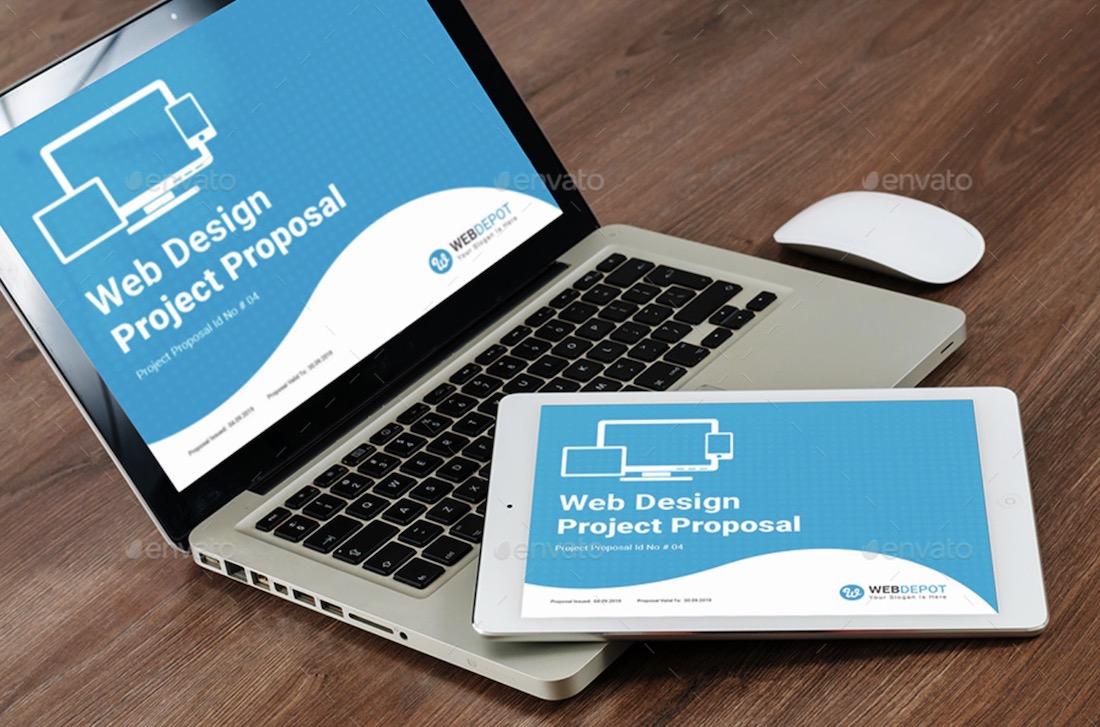 ebook web design proposal