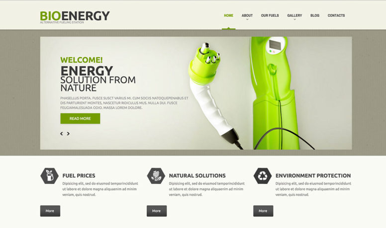 11 Eco-Friendly WordPress Themes For Green Era Websites 2015