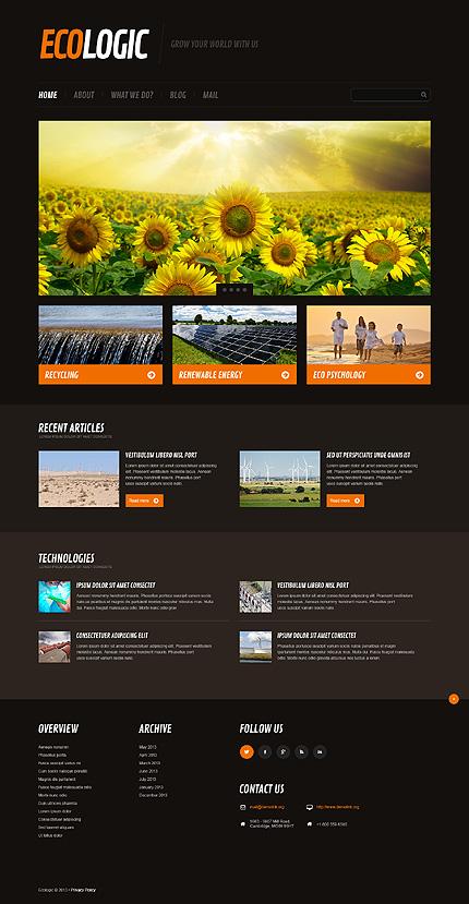 11 Eco-Friendly WordPress Themes For Green Era Websites 2015 - Colorlib