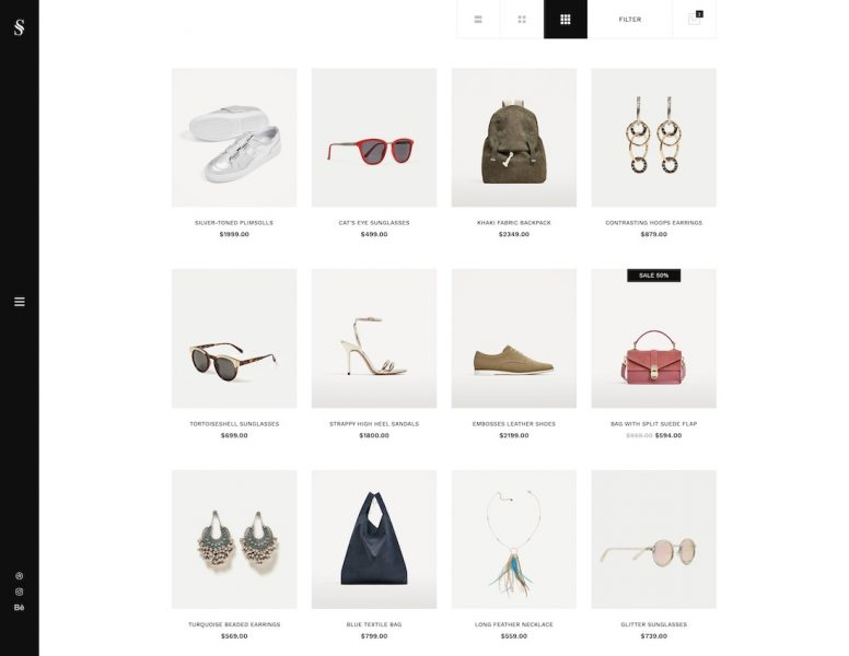 21 ECommerce Website Templates For Top Online Stores 2018