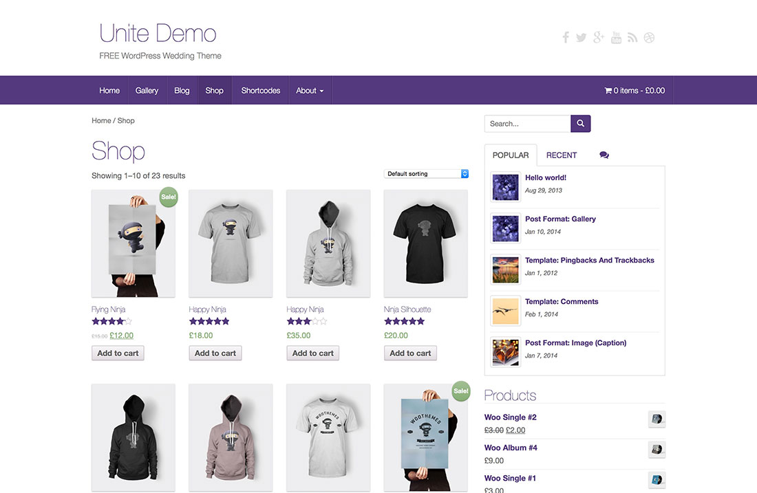 25 Free & Responsive eCommerce WordPress Themes Powered by WooCommerce ...