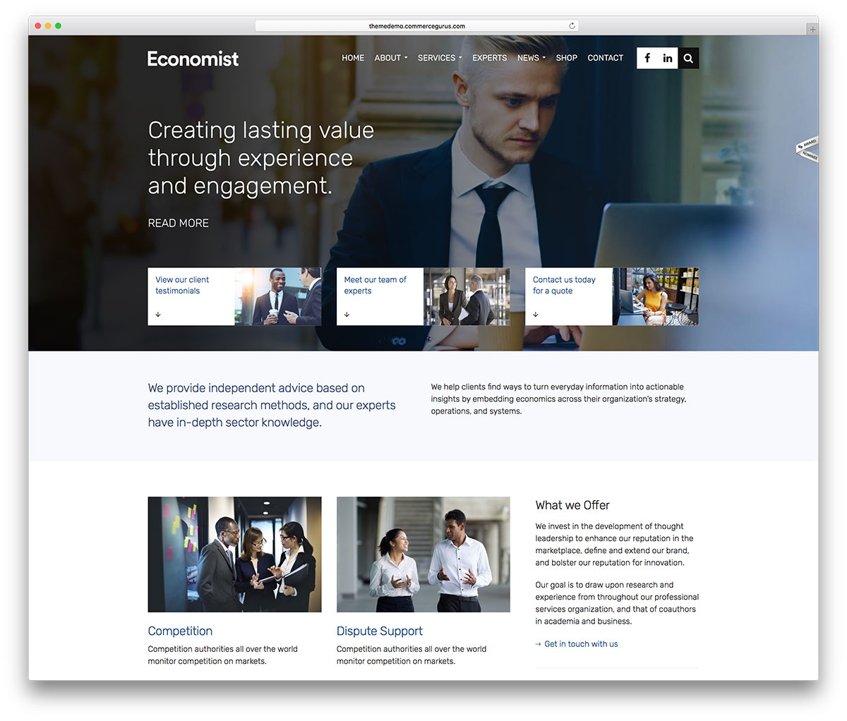 20 best financial company wordpress themes 2018 colorlib economist is a clever and responsive wordpress business and finance multipurpose website theme this theme is perfect for webmasters from all walks of life friedricerecipe Gallery