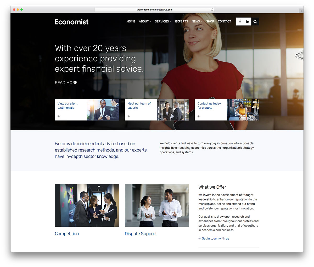50 best wordpress corporate business themes of 2018 colorlib economist is a professional and responsive wordpress business and finance multipurpose website theme it is a sleek and effective platform for crafting cheaphphosting Images