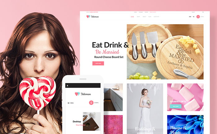 - Gifts Store Responsive WooCommerce Theme