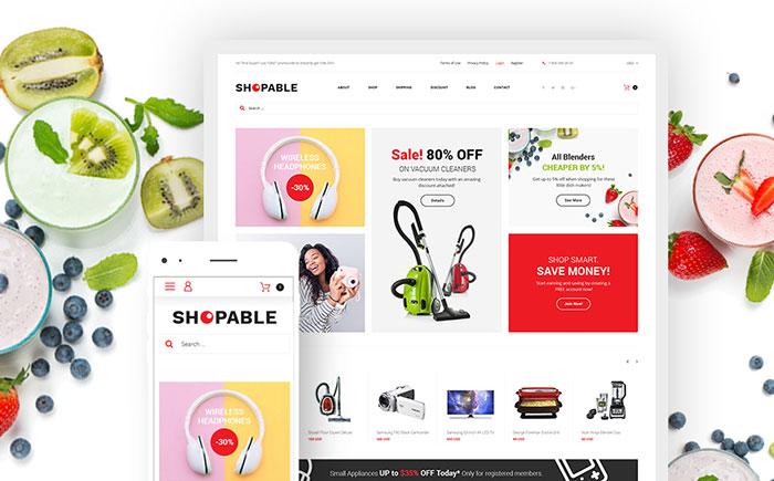 e Store WooCommerce Theme
