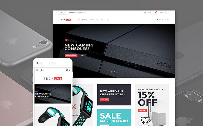 ve Electronics WooCommerce Theme