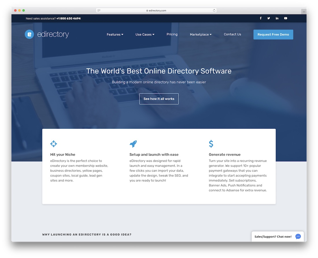 edirectory directory website builder