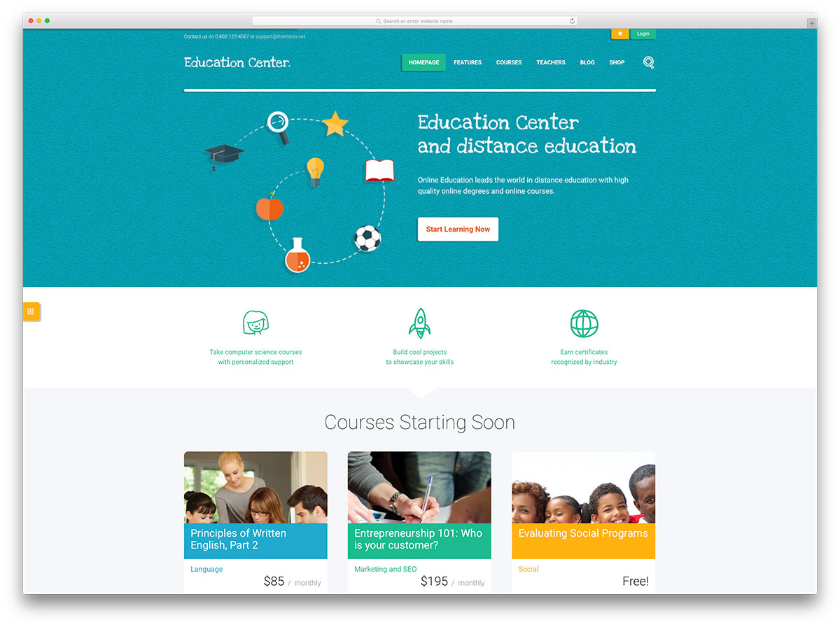32 Awesome & Responsive WordPress Education Themes 2018 - Colorlib