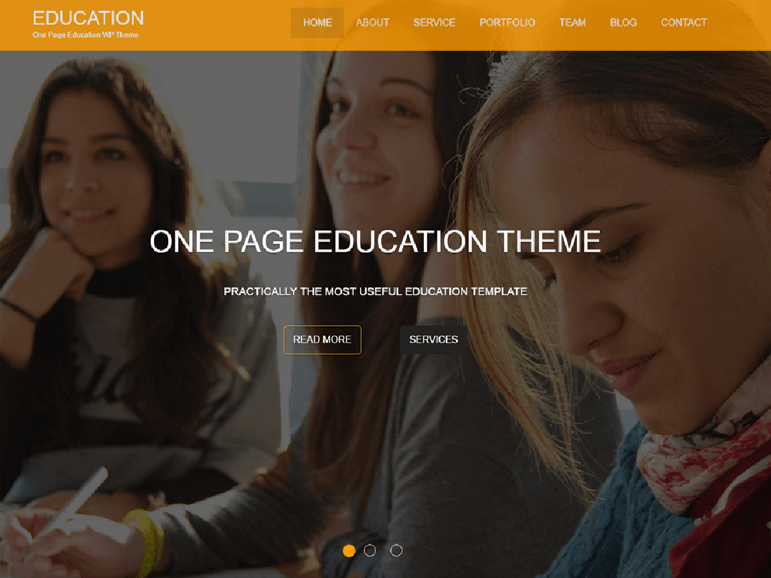 Education One WordPress Education Theme