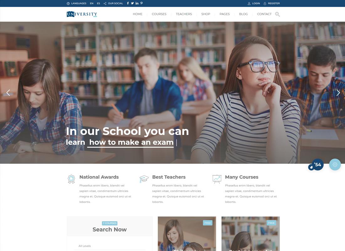 Education Pack | Education Learning WordPress Theme