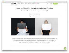 Education Website Builders