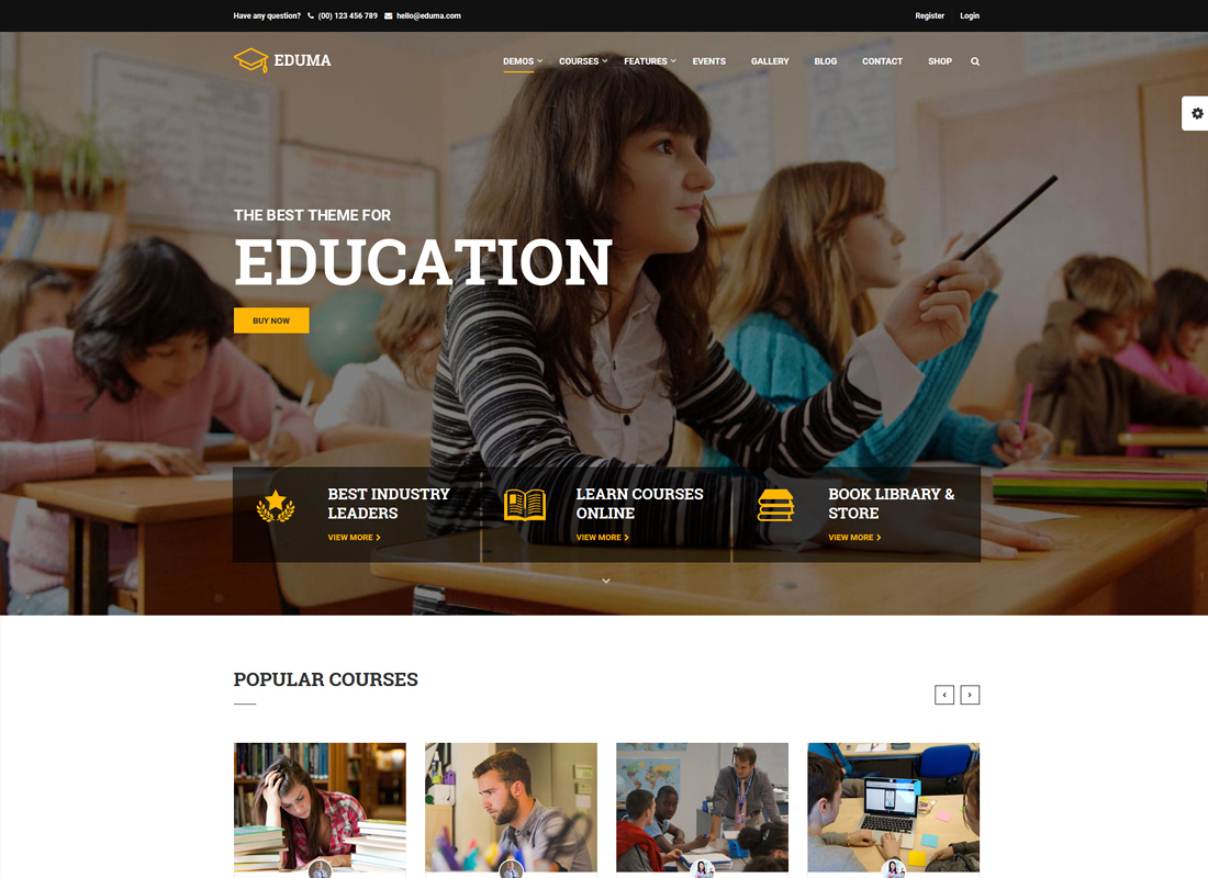 Education WP | Education WordPress Theme