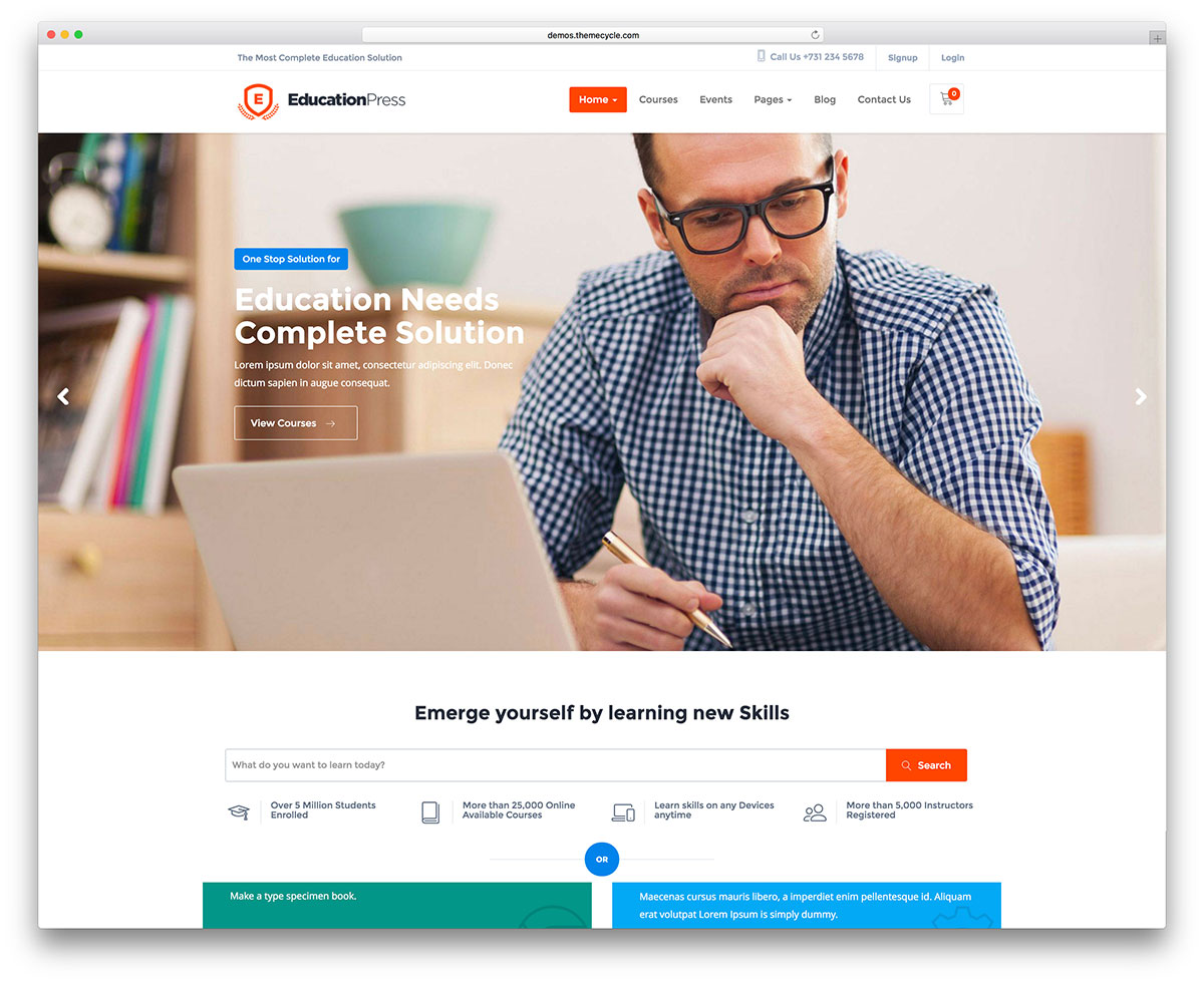 educationpress-online-course-wordpress-template