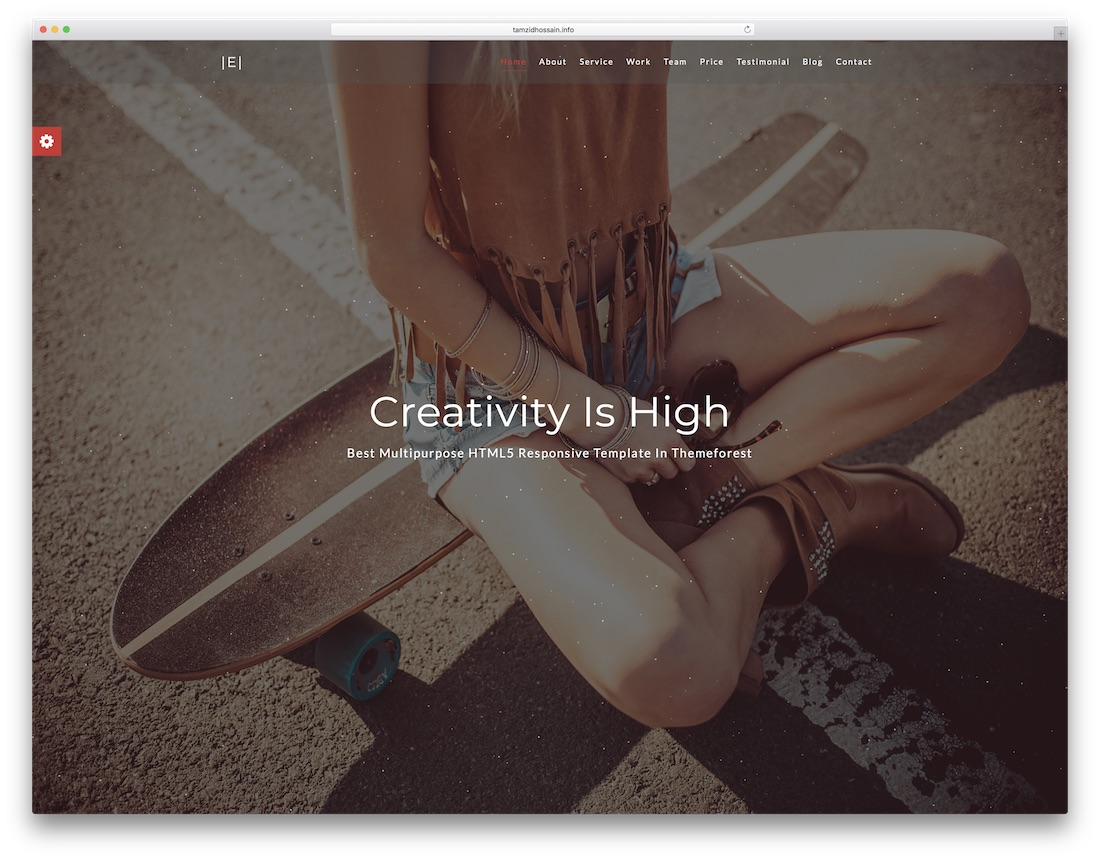eichsa professional website template