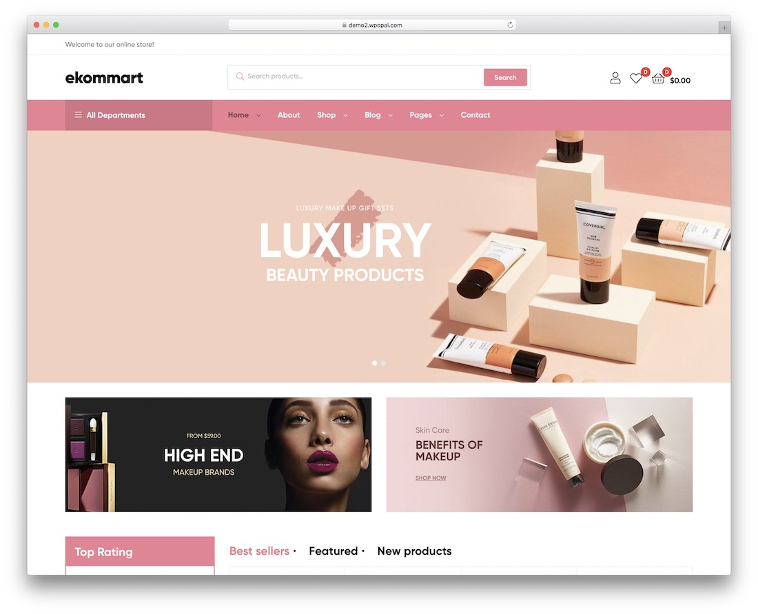 ekommart woocommerce wordpress theme