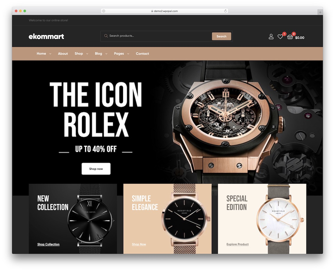 ekommart wordpress theme
