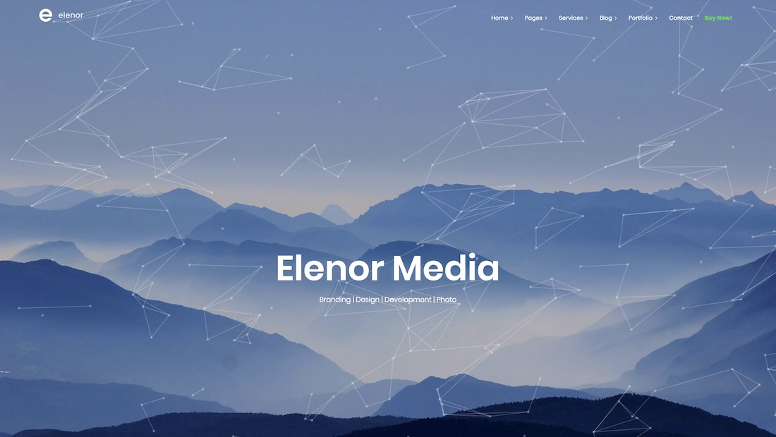 elenor website template