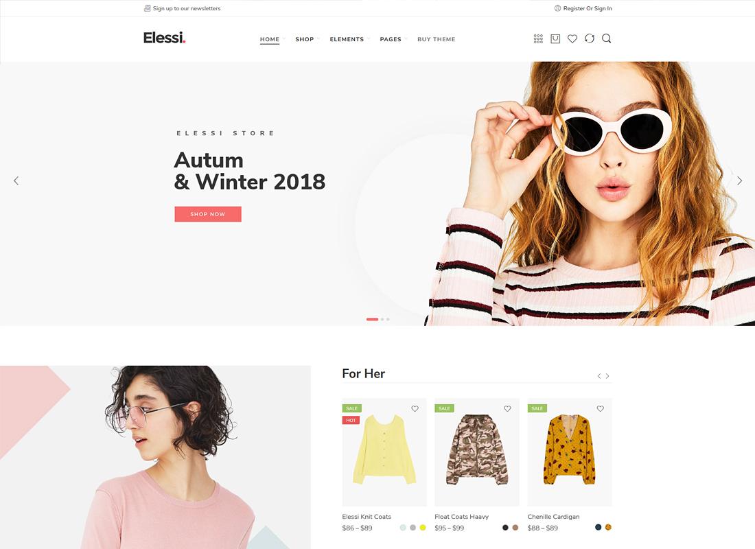 Elessi | WooCommerce AJAX WordPress Theme + RTL Support